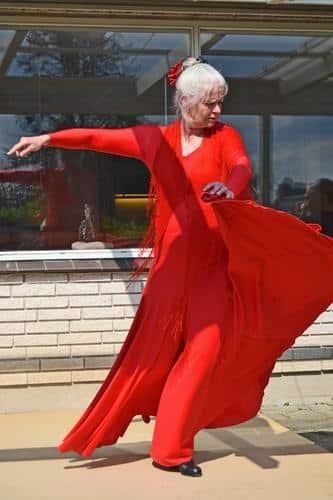 flamencodanser og dansemalerier