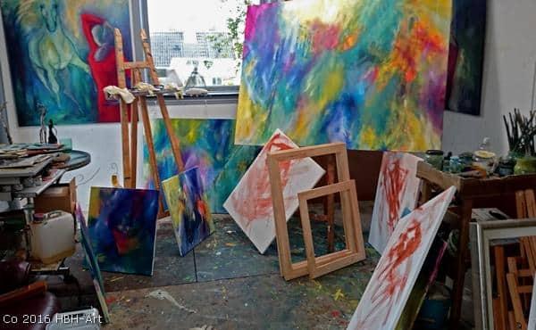 Atelier - køb kunst direkte fra kunstner