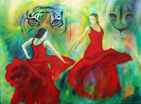 Malerier til salg