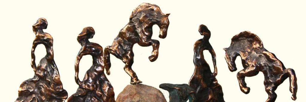 Bronze skulpturer