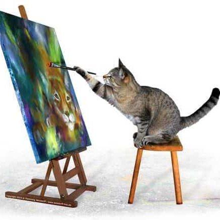 Lær at male på et online malekursus