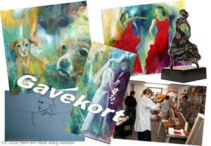 Gavekort til kunst og malekurser