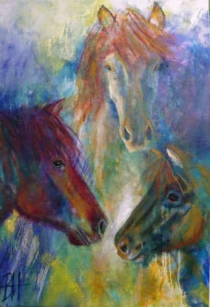 portræt af din hest