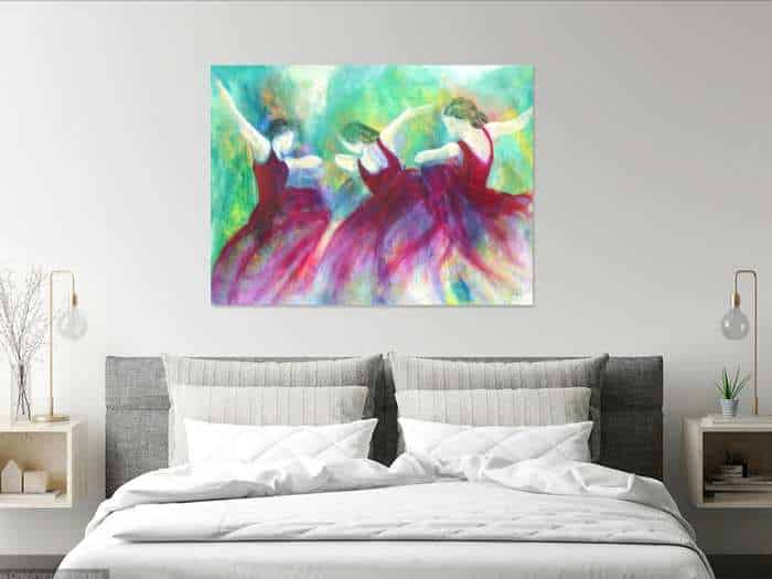 Kunst i soveværelset