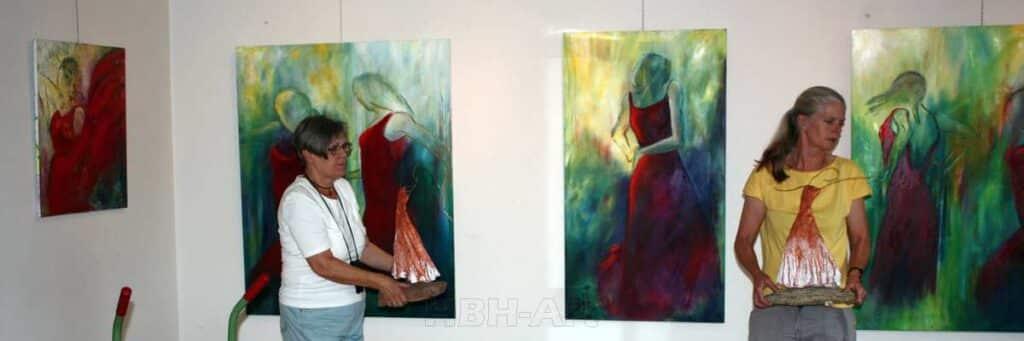 udstilling i kunstforeninger