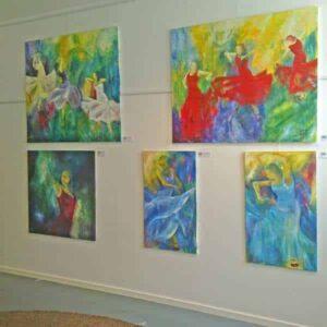 Udstilling i kunstforening