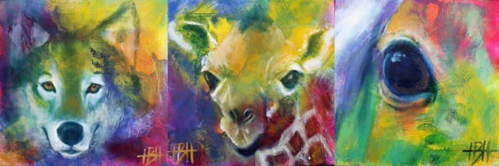 Små malerier fra HBH-Art Helle Borg Hansen