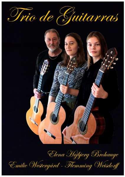 Levende guitarmusik til ferniseringer - trio de guitarras