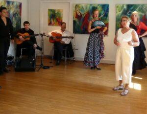Fernisering i dit hjem med flamencooptræden