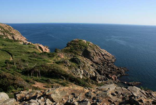 landskabsfotografi af Kullen på lærred