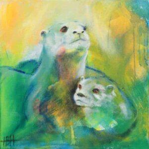to oddere på maleri