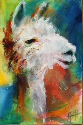 Art money alpaca