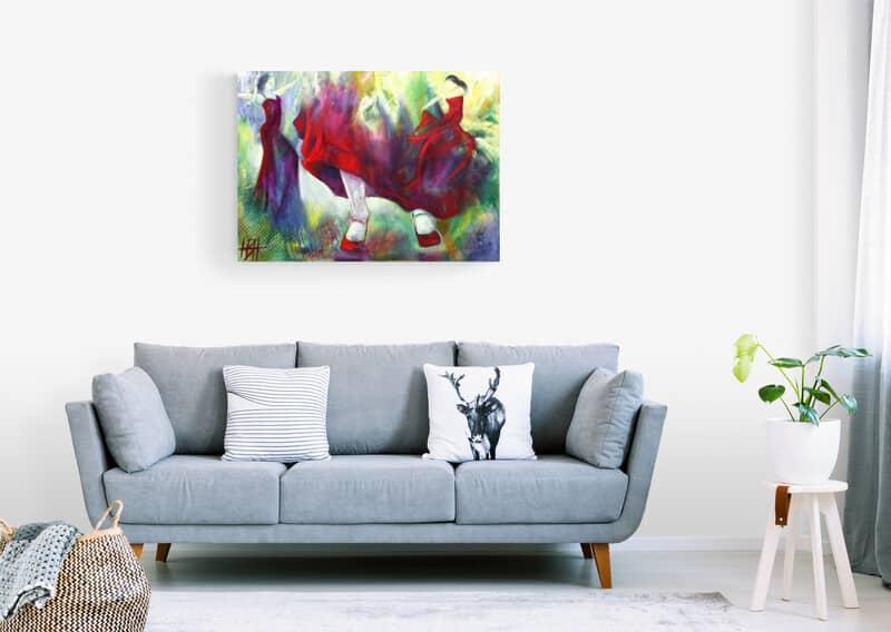 Malerier til boligindretning