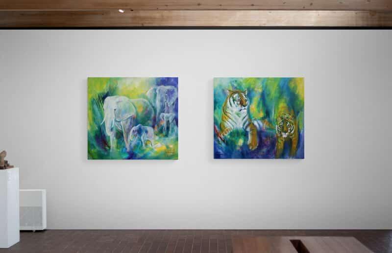 Malerier til væggen