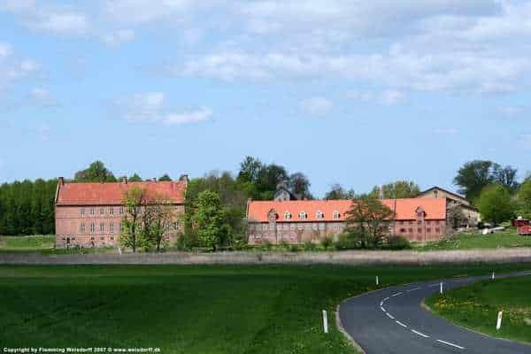 Selsø slot nær Skuldelev