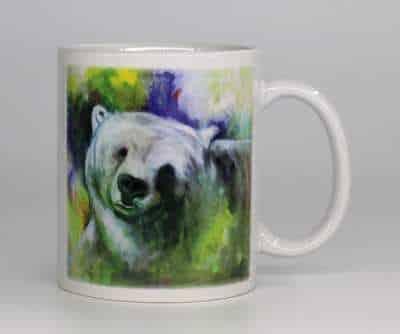 Kunstkrus med bjørn