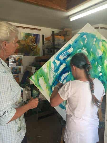 lær at male på malekursus