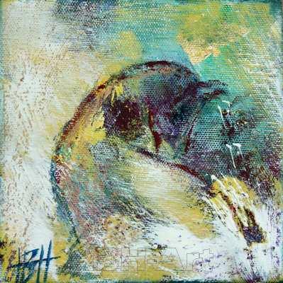 Abstrakt og figurativt maleri på samme tid