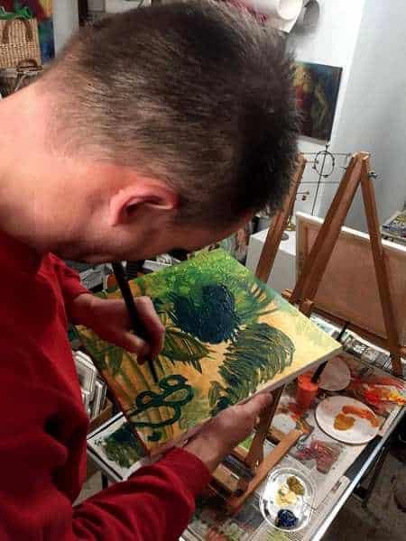 maleelv koncentrerer sig på malekursus