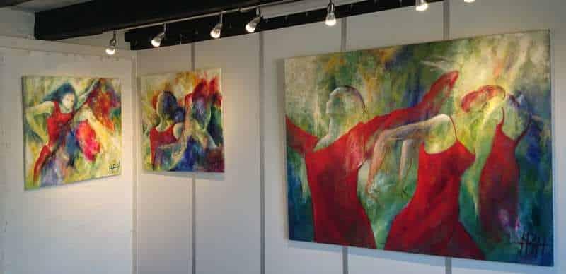 galleri og online galleri