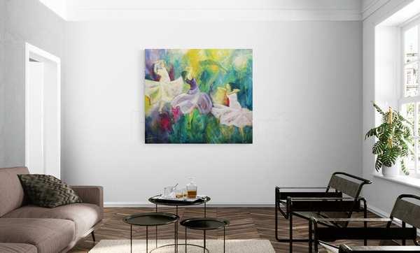 Store malerier på store vægge